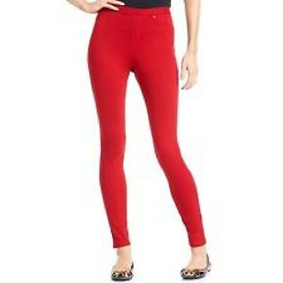 26943ba4e7e HUE Womens Original Denim Leggings Size XS Color Jester Red U13360h