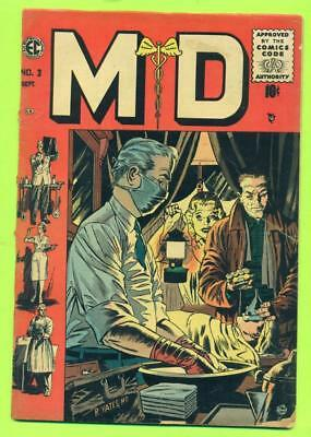 Ec Comics Sept 1955 M D # 3 Gd/vg
