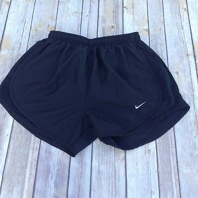 Nike Workout Athletic Tempo Running Shorts DRI FIT Black Women's Size XS