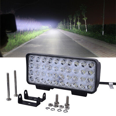120W Spot LED Work Light Bar Off-road Jeep SUV ATV Boat Fog Driving Lamp12V-24V