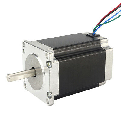 Stepper Motor Moteur pas à pas Nema23 1.8°4-wires 76mm 3A 270oz-in 1.8Nm Bipolar