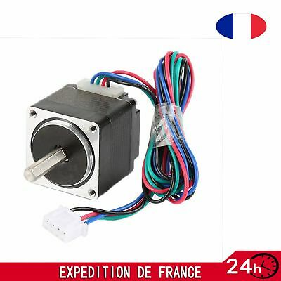Stepper Motor Moteur pas à pas Nema23 1.8°4-wires 28mm 3A 270oz-in 1.8Nm Bipolar