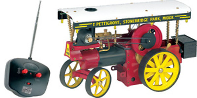 Wilesco D499 Steam Showmans Engine with Radio Control Brand New