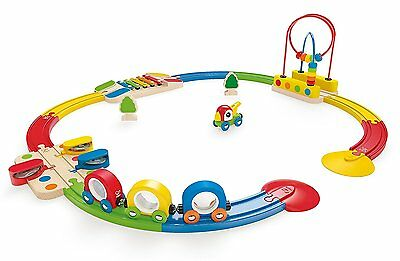New Hape Rainbow Sights & Sounds Toddler Wooden Railway