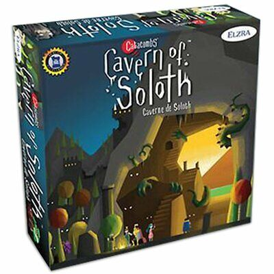 Catacombs Cavern of The Soloth expansion Board Game