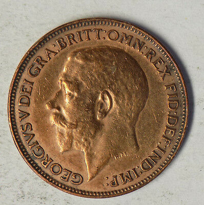 Great Britain 1925 1 Farthing Coin