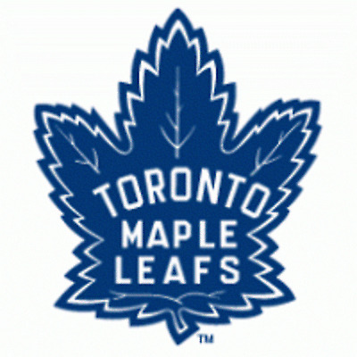 Toronto Maple Leafs NHL Team Logo Color Printed Decal Sticker Car Window Wall