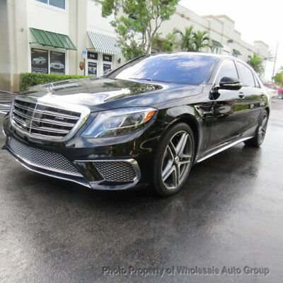 2015 Mercedes-Benz S-Class 4dr Sedan S 65 AMG RWD ONE OWNER CARFAX CERTIFIED. BEST COLOR. FULLY LOADED. FACTORY WARRANTY