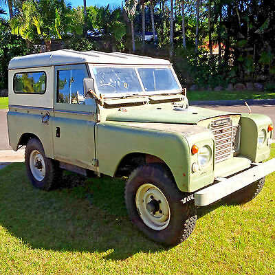 1973 Land Rover Series 3  SWB  'JENNY' our much loved 1973 Series 3 LAND ROVER 88