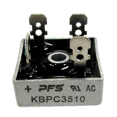 1pc 35A 1000V Metal Case Single Phases Diode Bridge Rectifier KBPC5010