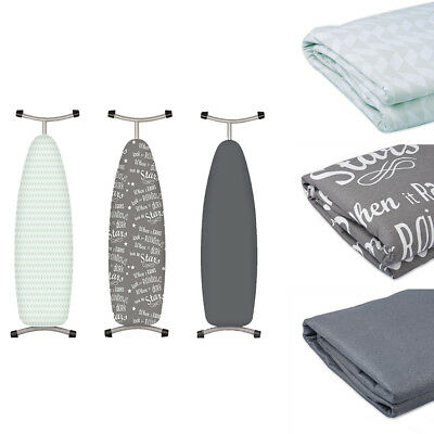 1-Pack Honey-Can-Do Ibc-03035 Premium Ironing Board Cover Green Geoetric