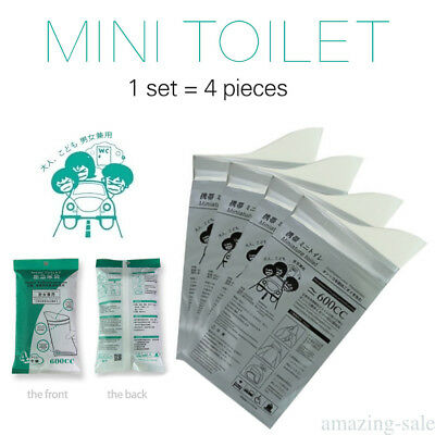 Disposable Emergency Urine Bag Pee Urine Mini Toilet Bag For Outdoor Car T5