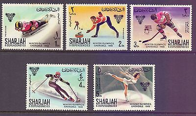 Sharjah  1968  Winter Olympics Grenoble, MH.