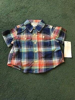 Boys Ralph Lauren Check Shirt - 3 Months BNWT