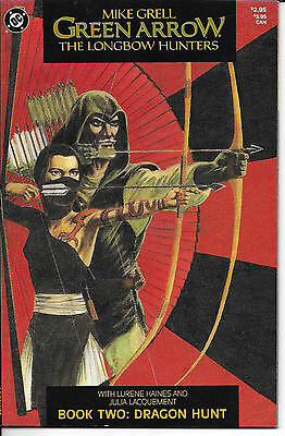 Green Arrow The Longbow Hunters # 2 1987 Mike Grell