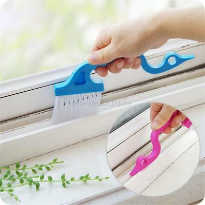 Window Track Shower Door Track Clean Brush Home Cleaning Tools Brushes 2Pcs AU