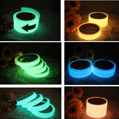 New Luminous Tape Self-adhesive Glow In Dark Safety Film Sticker Stage Decor