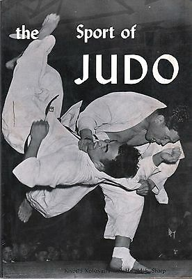1969 The Sport Of Judo Kobayashi Techniques Spirit History Science Weapons BOOK