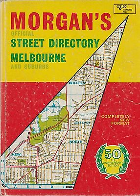 Morgan's Official Street Directory Melbourne & Suburbs 50th Anniversary Edition