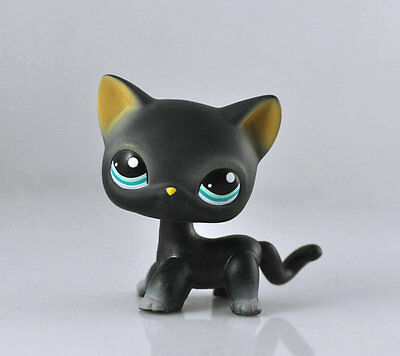 Pet Short hair Cat Collection Child Girl Boy Figure Littlest Toy Loose LPS973