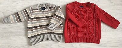 Baby Gap Boys Jumper Bundle Age 3-6mths