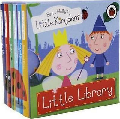 Ben and Holly's Little Kingdom: Little Library By Ladybird(Board book)