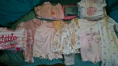 Newborn girls summer clothes bundle