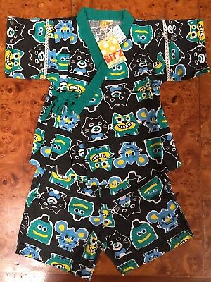 Japanese Clothes JINBEI for Kids