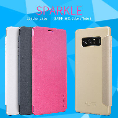 Original Nillkin Fashion PU Leather Flip Case Cover For Samsung Galaxy Note 8 9