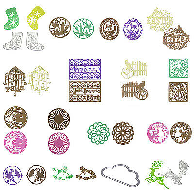 Metal Cutting Dies Stencils Scrapbooking Embossing DIY Crafts Album Paper Gift