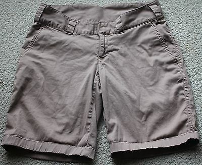 THE NORTH FACE Ladies BEIGE Hiking SHORTS sz 4