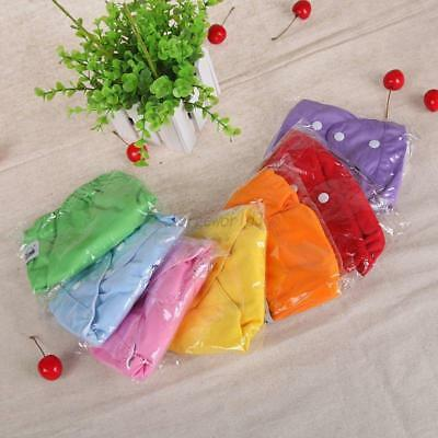 Baby Cute Diaper Reusable Washable Cloth Nappy Soft Washable Inserts Covers Pant
