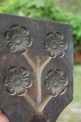 Victorian Bronze Brass Flower Mold Die Millinery Press Tool Pattern curtains