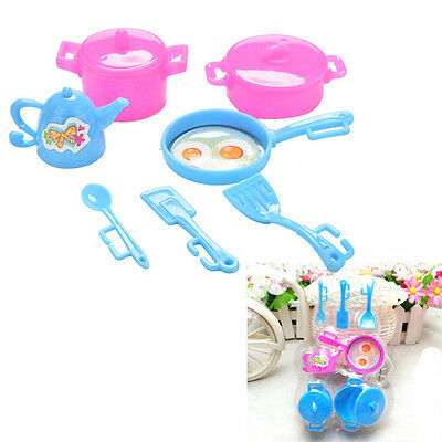 Kitchen Tableware Doll Accessories For Barbie Dolls Girls Baby Play House ToyYYO