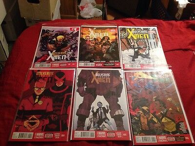 WOLVERINE and the X-MEN Vol 2 #1-12 (marvel , 2014)