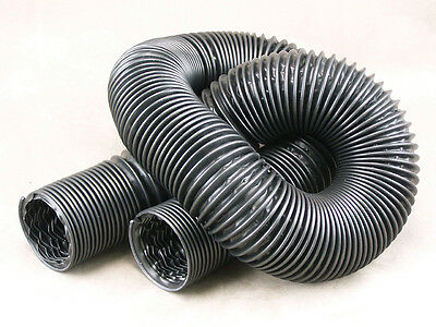 Plastic Duct Hose, 3 Inch diameter, 6 Foot length [91-55P]