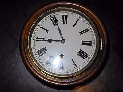 small 8 inch dial clock