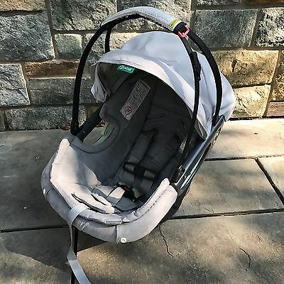 Orbit Baby G2-Onyx Grey Infant Car Seat For Stroller Use Gently Used