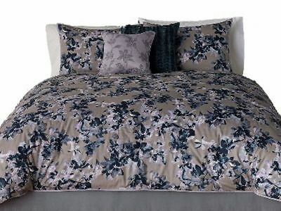 5c6212dd93ecad Simply Vera Wang Midnight Floral Queen Bed Comforter Set with Shams, 3 Pc