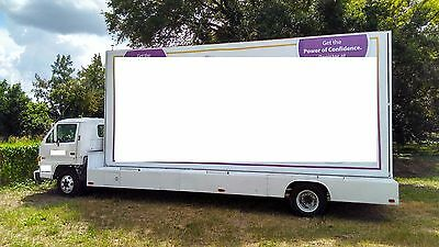Isuzu NPR Mobile Billboard Truck 10ft x 22ft NO RESERVE