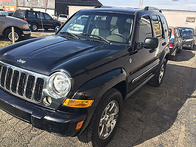 2006 Jeep Liberty Limited Sport Utility 4-Door 2006 Jeep Liberty Limited Sport Utility 4-Door 3.7L