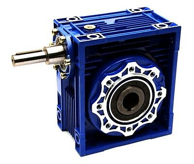 RV090 Worm Gear 80:1 Coupled Input Speed Reducer