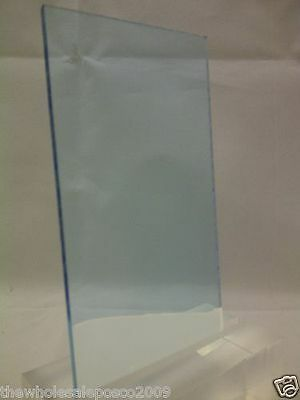 Pale Blue Tinted Perspex 7704 Acrylic Sheet Material 5mm x 106mm x 160mm offcut