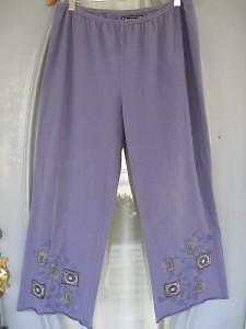 Blue Fish @ Barclay Lycra Pants, size 2, Azula