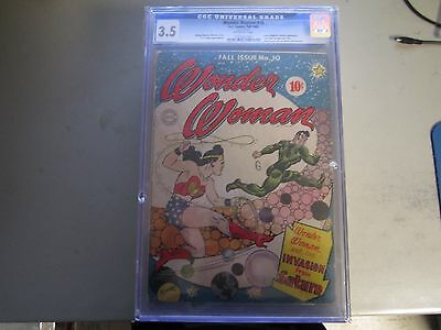 Wonder Woman #10 CGC 3.5 Comic Book 1944