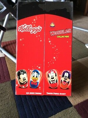 Kellogg's 2005 Disney Wobbler Collection Brand New In Box