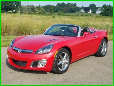 2008 Saturn Sky Red Line 2008 Saturn Sky Red Line 2.0L I4 Turbo 5-Speed Manual Convertible 08 6k Miles