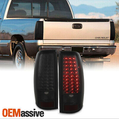Fits 2001-2004 Tacoma Smoked Philips Lumileds LED Tail Lights Brake Lamps 02 03