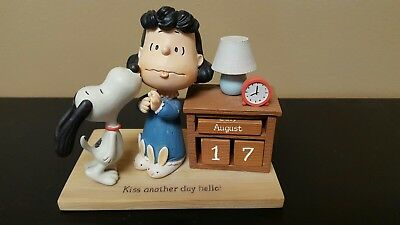 "Peanuts Gallery ""Kiss Another Day Hello"" 3-D calendar"