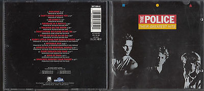 The Police ‎– Their Greatest Hits CD